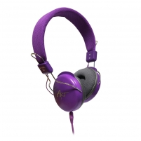 Ausinės ART Multimedia Headphones STEREO with microphone AP-60MC purple