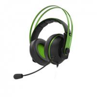 "Ausinės Asus CERBERUS V2 90YH016B-B1UA00 3.5 mm(1/8"") connector Audio/mic combo, Green, Built-in microphone"