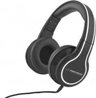 Audio/stereo ausinės Esperanza EH136K | 3m su garso reguliatoriumi