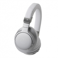 Ausinės Audio Technica ATH-AR5BTSV Bluetooth, Headband/On-Ear, Microphone, Silver/White