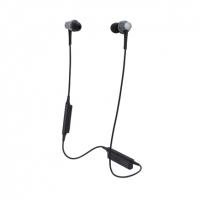 Ausinės Audio Technica ATH-CKR75BTGM Bluetooth, Neckband, Microphone, Gunmetal Belaidės, bluetooth ausinės
