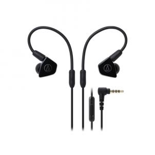 Ausinės Audio Technica ATH-LS50ISBK In-ear, Microphone, Black
