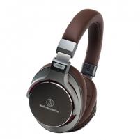 Ausinės Audio Technica ATH-MSR7GM SonicPro™ Over-Ear High-Resolution Audio Headphones with in-line controls and mic Ausinės ir mikrofonai