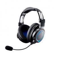Ausinės Audio Technica Gaming Headset ATH-G1WL On-ear, Microphone