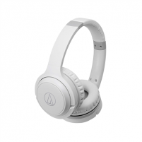 Ausinės Audio Technica Headphones with Built-in Mic and Controls ATH-S200BTWH Headband/On-Ear, Bluetooth, White, No, Yes Belaidės, bluetooth ausinės