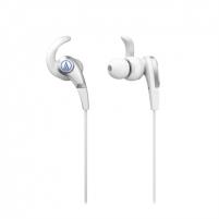 Ausinės Audio Technica SonicFuel ATH-CKX5WH Earphones - White Ausinės ir mikrofonai