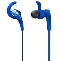 Ausinės Audio Technica SonicFuel ATH-CKX7BL Earphones - Blue Laidinės ausinės
