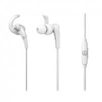 Ausinės Audio Technica SonicFuel ATH-CKX7iSWH Earphones with Remote and Mic - White Ausinės ir mikrofonai
