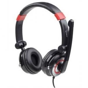 Ausinės Ausinės Gembird 5.1 surround USB headset Ausinės ir mikrofonai