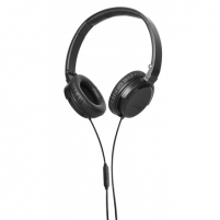Ausinės Beyerdynamic DTX 350 m On-Ear Stereo Headphones with mic, Black/ 32 Ohms/ Stereo Mini-Jack/ one button controller/ double sided flat straight cable Beyerdynamic