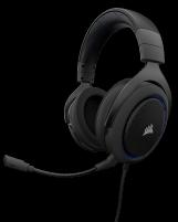 Ausinės Corsair Stereo Gaming Headset HS50 Blue (EU)