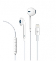 Ausinės Devia Smart earphone with lightning interface for iPhone white