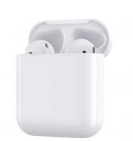 Ausinės Devia TWS wireless earphone (V6+) white Belaidės, bluetooth ausinės