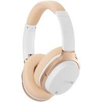 Ausinės Edifier Headphones BT W830BT Over-ear, Microphone, White/Creme