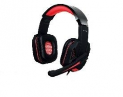 Ausinės Gaming Headset TRACER Battle Heroes Xplosive Red