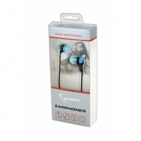 Ausinės Gembird MHS-EP-002 Metal earphones with microphone and volume control