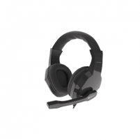 Ausinės GENESIS ARGON 100 Gaming Headset, On-Ear, Wired, Microphone, Black