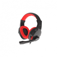 Ausinės GENESIS ARGON 110 Gaming Headset, On-Ear, Wired, Microphone, Black/Red