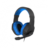Ausinės GENESIS ARGON 200 Gaming Headset, On-Ear, Wired, Microphone, Blue