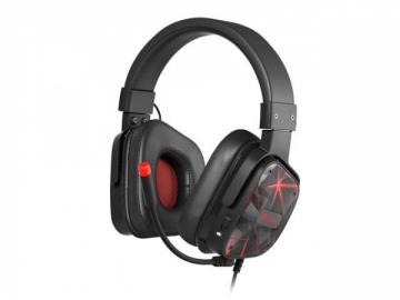 Ausinės GENESIS Gaming headset RADON 710 Virtual 7.1. black
