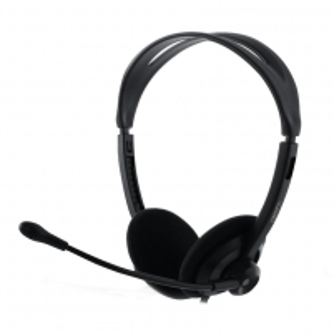 Ausinės Headset FHS04, 2.3m, Black