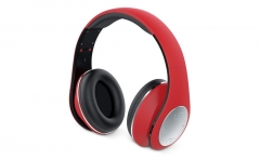 Ausinės Headset Genius HS-935BT Red, Bluetooth 4.1, microphone, rechargeable
