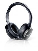 Ausinės Headset Genius HS-940BT Black, Bluetooth 4.0, microphone, rechargeable