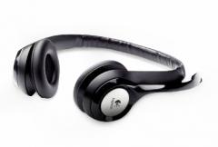 Ausinės Logitech H390 USB Computer-Headset black Laidinės ausinės