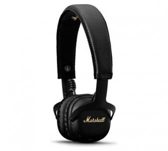 Ausinės Marshall MID A.N.C. Bluetooth black Belaidės, bluetooth ausinės