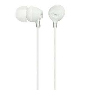 Ausinės MDR-EX15APW White