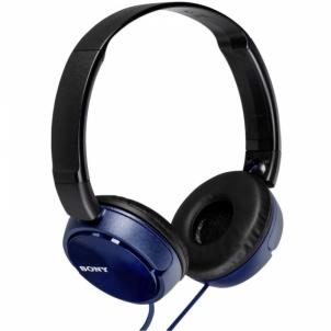 Ausinės MDR-ZX310L Blue Laidinės ausinės