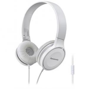 Ausinės Panasonic RP-HF100ME-W Headband/On-Ear, Connection type 3.5 mm, Microphone, White