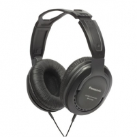 Panasonic RP-HT265E-K Closed Type Headphones with Volume Control 5M, Black Laidinės ausinės