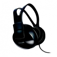 Ausinės Philips SHP1900 BLACK, Full size lightweigh headphones for Music, TV, PC, speakers size - 40 mm,Lightweight Laidinės ausinės