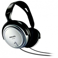 Philips SHP2500 SILVER, TV and HiFi, speakers size - 40 mm, frequency 15-22000 Hz, cord lenght - 6m.