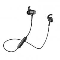 Ausinės QCY M1c Magnetic Bluetooth Earphones black (QCY-M1c)