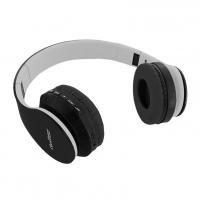 Ausinės Qoltec BT wireless stereo headphone + microphone   FM   TF   Black