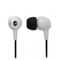 Ausinės Skullcandy JIB White 11mm drivers with neodymium magnets for full-range sound Ausinės ir mikrofonai