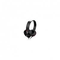 Ausinės Sony headphones MDR-XB950APB Extra Bass Headphones, 40mm driver unit, 3 - 28,000 Hz, 40 Ohm, 106 dB/mW, Black/Red Ausinės ir mikrofonai