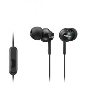 Ausinės Sony In-ear Headphones EX series, Black Sony MDR-EX110AP