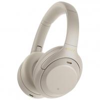 Ausinės Sony WH-1000XM4 platinum silver