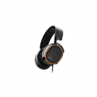 Ausinės SteelSeries Gaming headset, Arctis 5 (2019 Edition), USB/1x3,5mm/2x3,5mm, Black, Channel mix and RGB lighning functions., Built-in microphone Laidinės ausinės