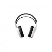 Ausinės SteelSeries Gaming headset, Arctis 7 (2019 Edition), White, Built-in microphone Laidinės ausinės