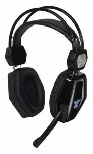 Ausinės Stereo GAMING ausinės su mikrofonu X-Zero X-H352KS juodai sidabrin