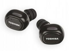 Ausinės Toshiba CordFree RZE-BT800E rubber black Belaidės, bluetooth ausinės