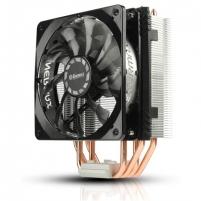 """Aušintuvas Enermax """"ETS-T40F-TB"""", universal cooler, 4 heat pipes, Intel: LGA 2011x/1366 / 115x / 775, AMD: FMx/AMx+"""