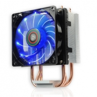 Aušintuvas Enermax ETS-N30R-TAA universal cpu cooler , 3heat pipes, 92mm LED whit PWM fan, - Intel Socket: LGA775 / 115x/1366/2011x AMD Socket: /AMx+/FMx+/