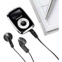 Ausinukas Intenso Music Mover 8GB black 3614560 Mp3 players