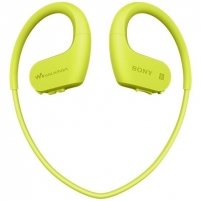 Ausinukas Sony Waterproof and dustproof Walkman NW-WS623G Lime Green, Bluetooth, Internal memory 4 GB, USB connectivity Mp3 atskaņotāji