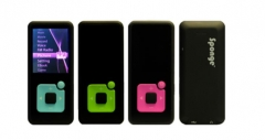 Ausinukas Sponge Melody 8GB green MP3 grotuvai, ausinukai